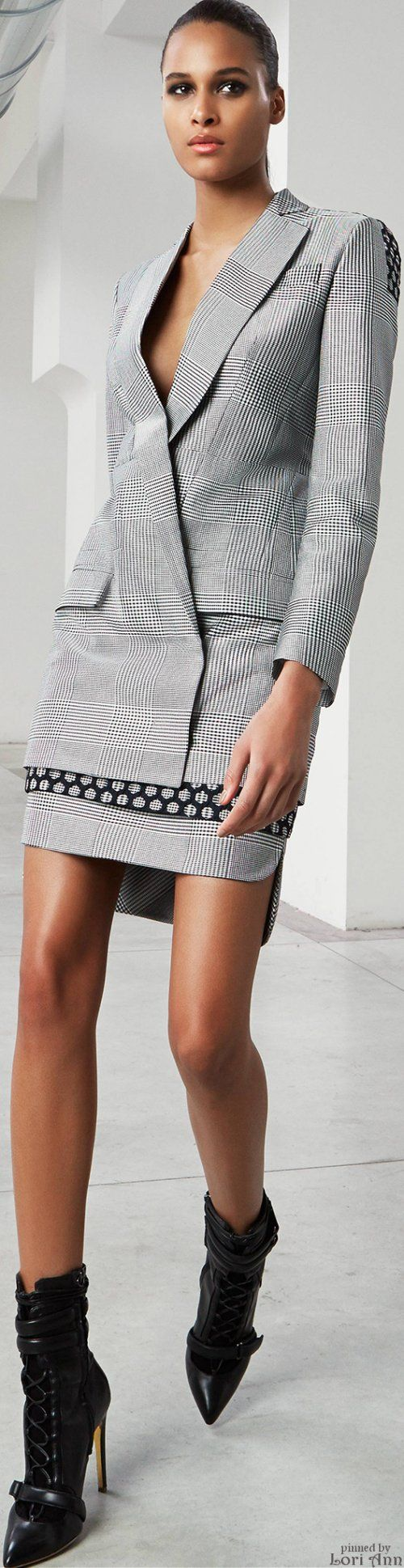 Antonio Berardi Pre-Fall 2015 women fashion outfit clothing style apparel @roressclothes closet ideas