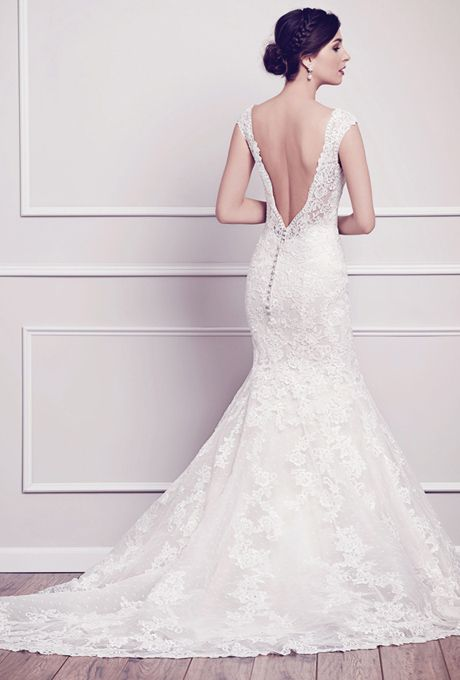 Kenneth Winston | Lace Wedding Dress | Low Back