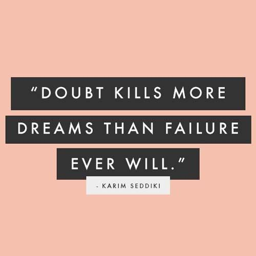 :: never doubt yourself ::