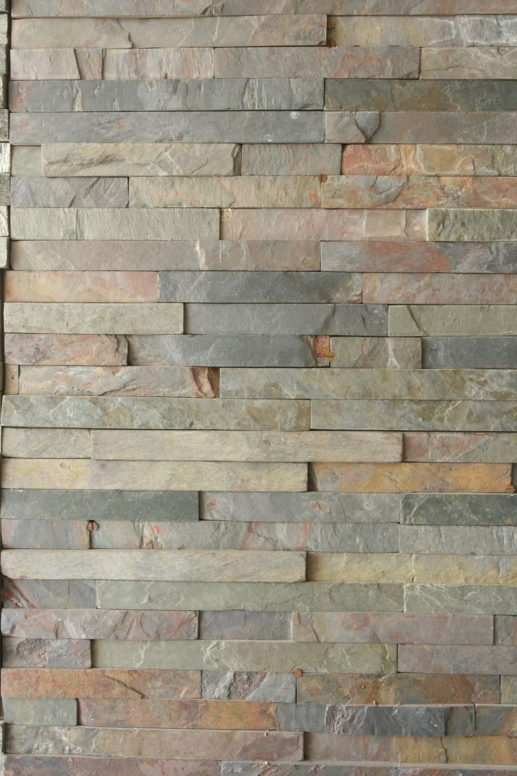 Mix Color Slate Wall Cladding Tiles Natural Stone