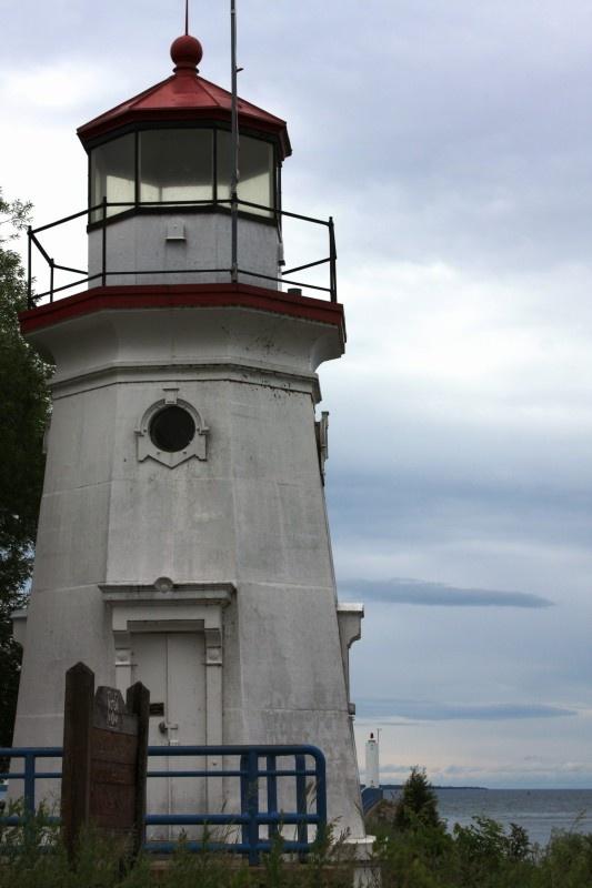 Cheboygan Crib Lighthouse in Cheboygan, Michigan