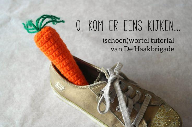 Haken voor kinderen: Foto tutorial: gehaakte wortel voor in je schoen