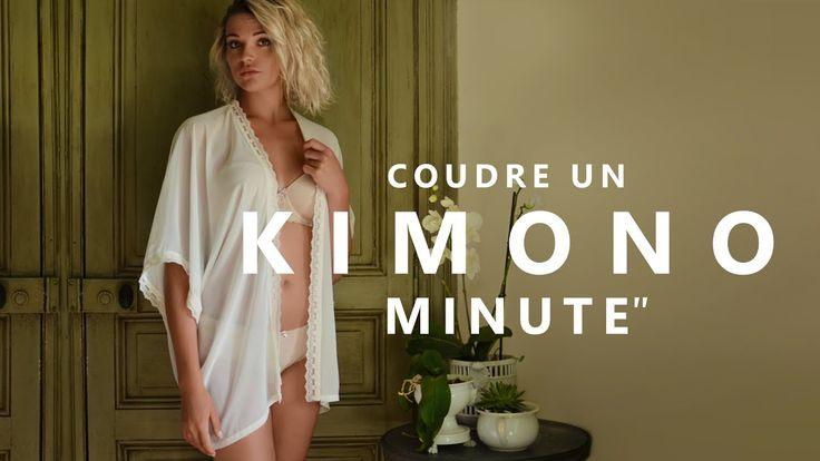 COUDRE UN KIMONO - TUTO COUTURE FACILE ET SANS PATRON - YouTube
