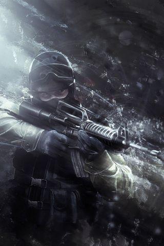 Counter Strike iPhone Wallpaper