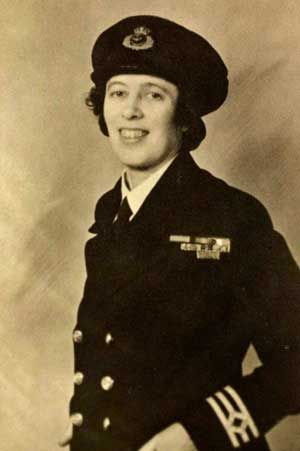 Victoria Alexandrina Drummond MBE (1894–1978) was the first woman marine engineer in Britain and first woman member of Institute of Marine Engineers. In World War II she served at sea as an engineering officer in the British Merchant Navy and received awards for bravery under enemy fire.  Her courage was recognised when she was awarded the Order of the British Empire[9] and the Lloyd's War Medal for Bravery at Sea[6][10][11] Her MBE was awarded by George VI in July 1941.