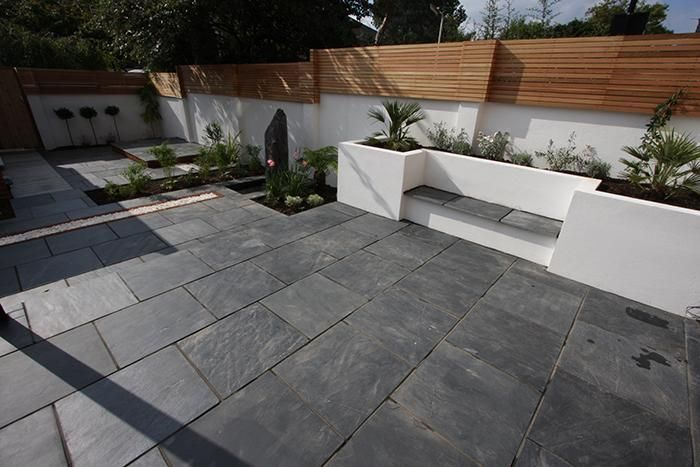 57 best images about Garden Paving Designs and Ideas on ... on Black And White Patio Ideas id=44162