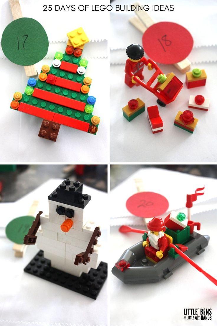 LEGO Christmas Building Ideas Days 17-20 LEGO Advent