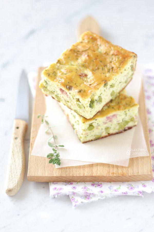 Zucchini slice -