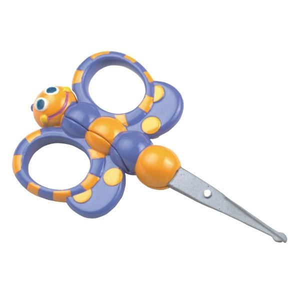 Butterfly Soft Grip Scissors - 0+ Months
