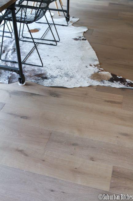 Engineered european white oak wide plank wood flooring, by Greenworld