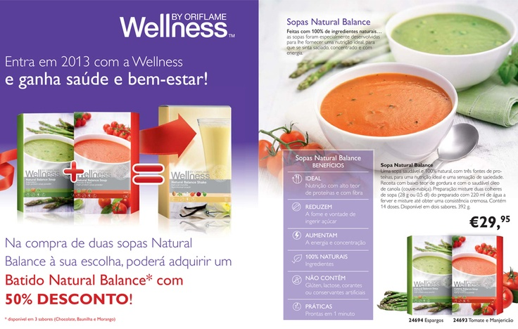 Compre duas e leve um batido por metade do preço. Alto teor nutritivo e com um sabor delicioso! Quer perder ou manter peso? Eu ajudo. | Buy two soups and get a shake for just half the price. Highly nourishing and with delicious taste! Do you want to lose or maintain your weight? I can help. http://magicflameportugal.pt.vu or http://www.facebook.com/MagicFlamePortugal