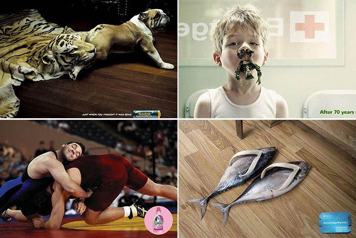 ТОП-10 самой оригинальной рекламы. (11 фото)   Реклама бывает не только навязчивой, но и оригинальной. Причем, чем крупнее компания, тем больше она старается отличиться, предлагая свой товар потребителю. Некоторые рекламные ролики настолько смешные, что могут поспорить по эффективности с самыми удачными анекдотами.   Читать всё: http://avivas.ru/topic/top_10_samoi_originalnoi_reklami.html