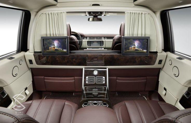 Range Rover Interior Customisation #simicustoms