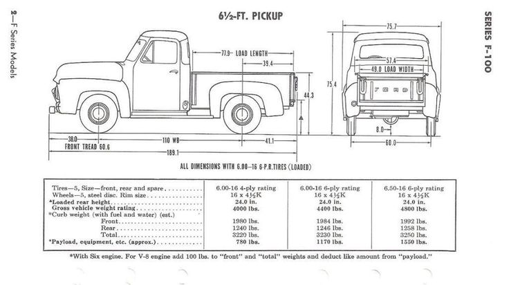 1953 ford truck 4x4