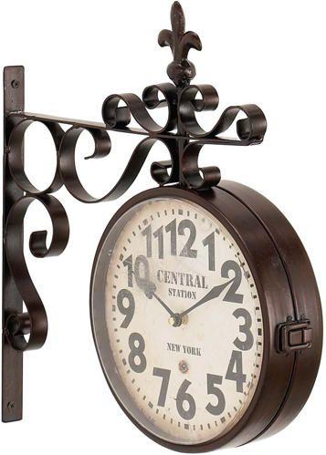 Royal Double Sided Wall Clock   - Art Van Furniture