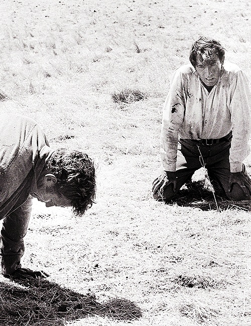 Gregory Peck and Charleton Heston in The Big Country (1958)
