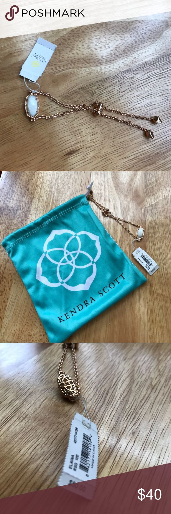 Kendra Scott Adjustable Bracelet Brand new w/ tags and comes with the traveling bag Kendra Scott Jewelry Bracelets