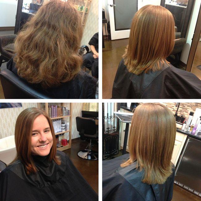 Coppola Keratin Treatments Dramatic Hairstyle