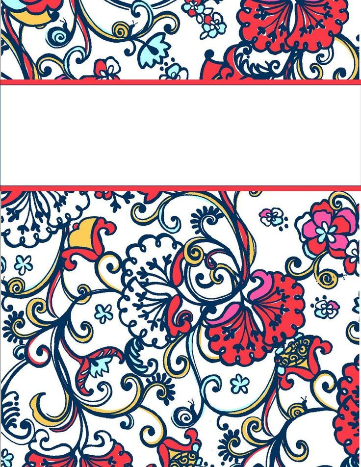 family binder cover pages free printable - Google Search