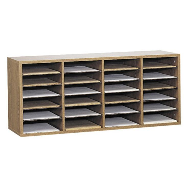 Safco 9423MO Wood Adjustable Literature Organizer with 24 Compartment    Medium Oak   9423MOBest 25  Literature organizer ideas on Pinterest   Computer desk  . Safco Chairs Office Depot. Home Design Ideas