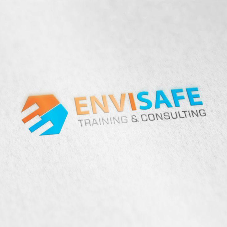 """Konsep logo yang menggabungkan antara simbol dan tipografi dengan jingga dan biru sebagai warna utama. Jingga memiliki makna khusus yang mewakili sifat optimis dan percaya diri dalam meraih sukses. Adapun biru merepresentasikan kejujuran, kepercayaan, serta kecerdasan. Simbol utama merupakan gambaran abstrak dari nama inisial perusahaan """"E"""" dalam sudut tertentu (30°) ke arah kanan yang mencerminkan grafik peningkatan."""