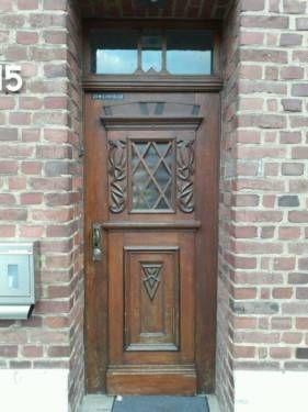 Historische  Holz Tür in Titz