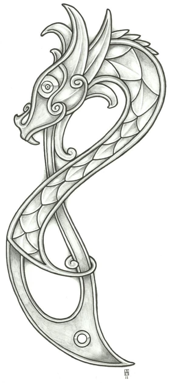 http://vikingtattoo.deviantart.com/art/Viking-Dragon-20113-206535168