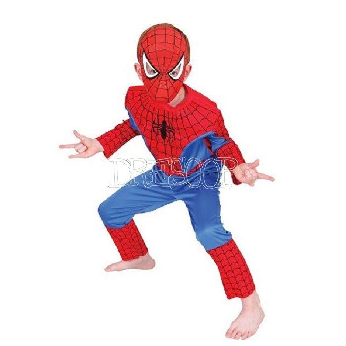 Disfraz Spiderman Musculoso para niño
