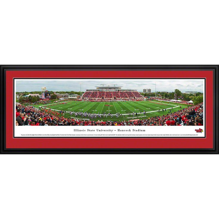 Worldwide Arkansas Razorback Football - Stripe 50 Yd - Blakeway Panoramas Framed Print
