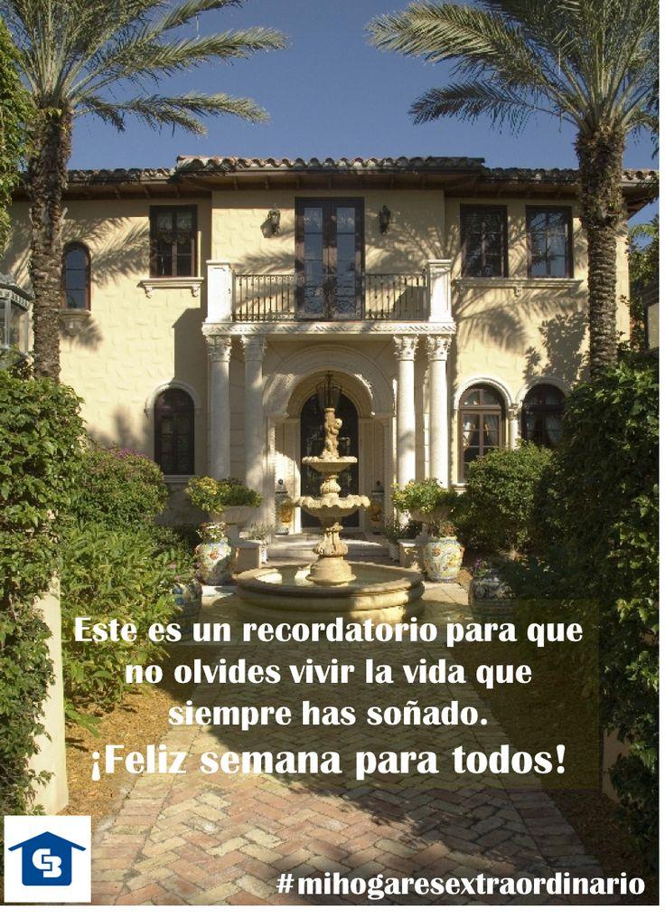 Les deseamos una semana extraordinaria. #cbcolombia #lainmobiliariaazul #mihogaresextraordinario #lunes #genblue