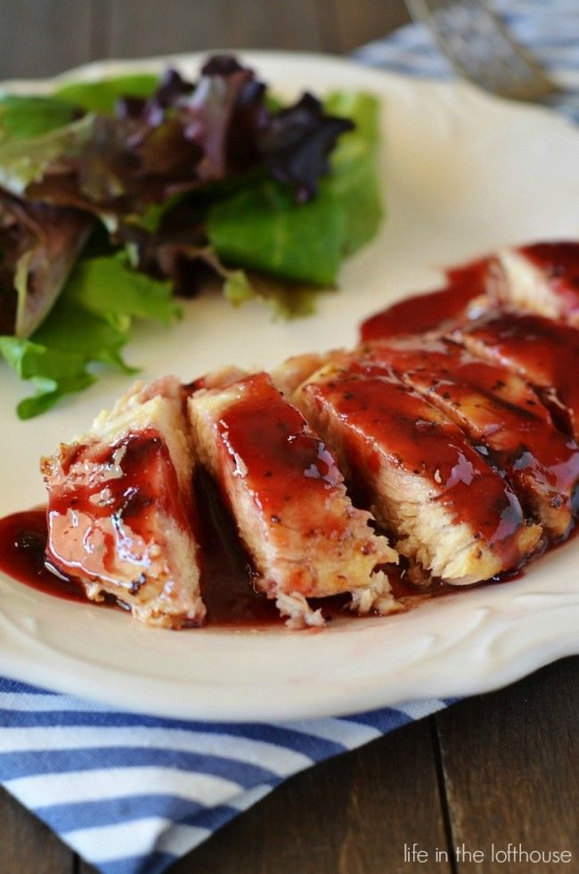 Raspberry Chicken! Absolutely delicious, amazing chicken!