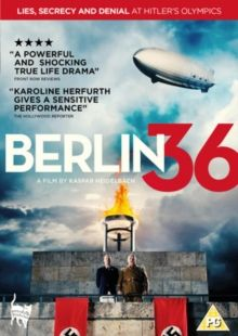 BERLIN 36 (15) GERMANY 2009 HEIDELBACH, KASPAR  £15.99 Inspired by true events, Berlin 36 is one of the biggest untold Olympic scandals. In the days leading up to the 1936 Olympics, the fa…