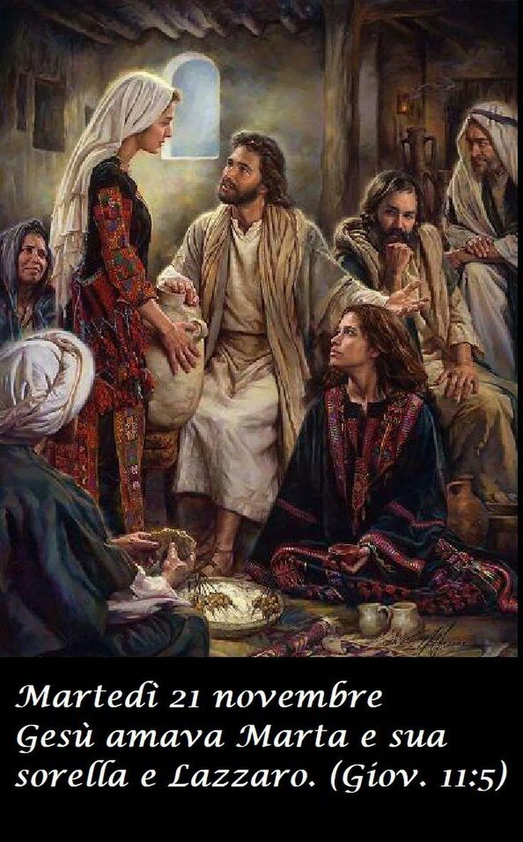 Jesús amaba a Marta a Maria su hermana y a Lazaro