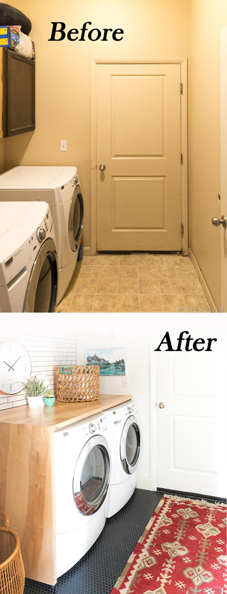 23 Before and After Budget Friendly Laundry