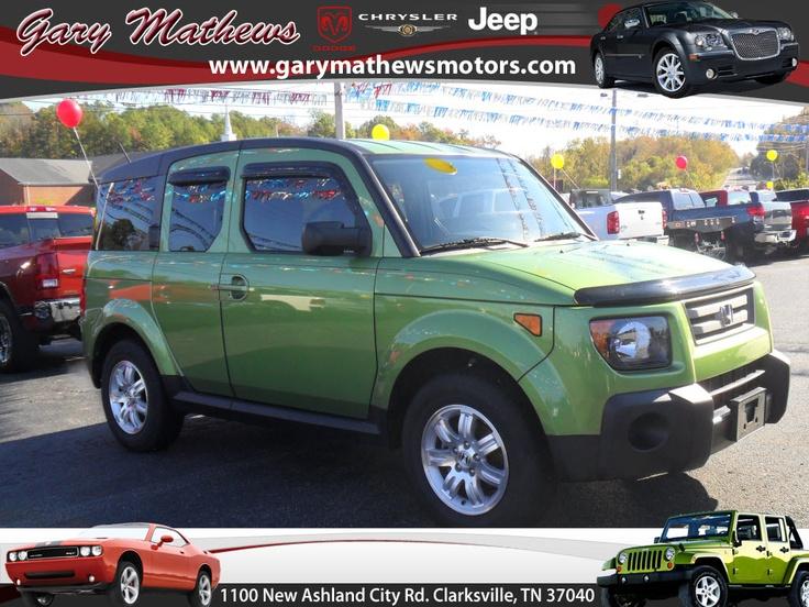 2008 Honda Element @ Gary Mathews Motors $18488