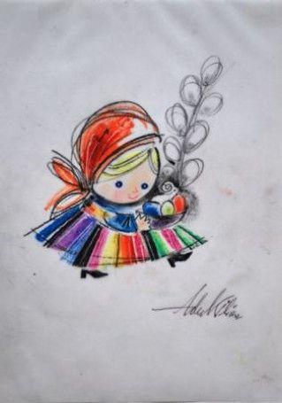 Ilustracja: Pyza na polskich dróżkach Adam Kilian