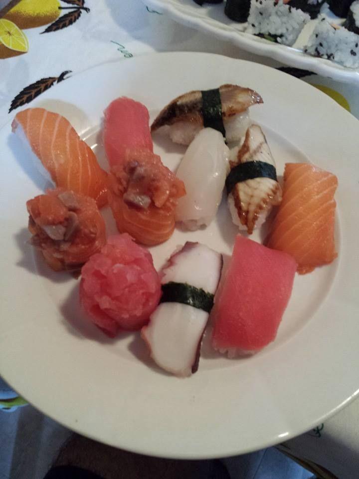 sushi fatto in casa la mia dieta
