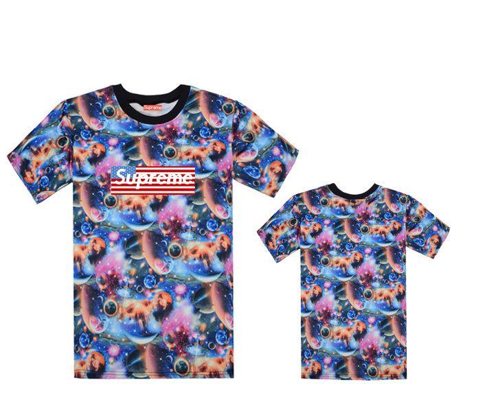 Supreme New Fashion Men Short Sleeve T Shirt Tee Casual