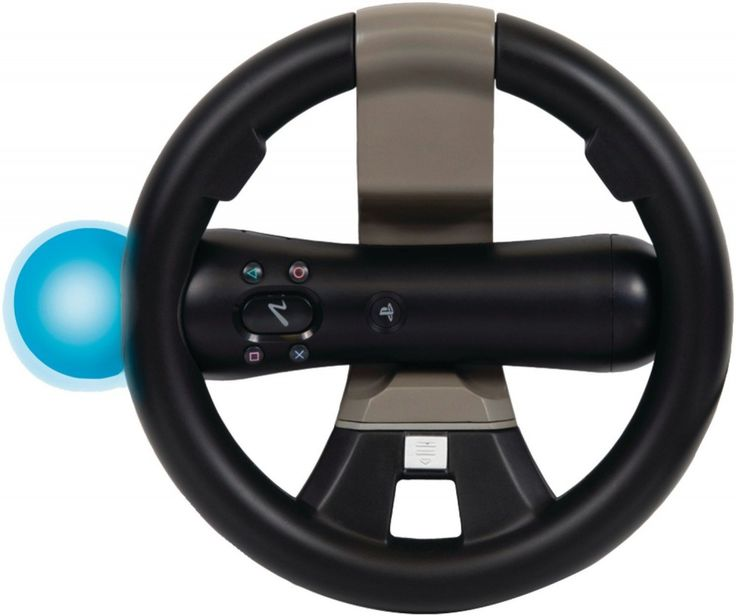 PlayStation Move and DualShock Racing Wheel #Doesnotapply