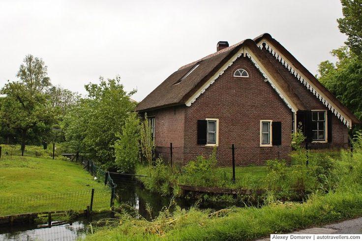 Дворик в голландской деревне рядом с Утрехтом
