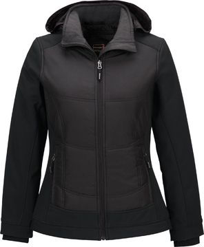 NEO LADIES' INSULATED HYBRID SOFT SHELL JACKETS