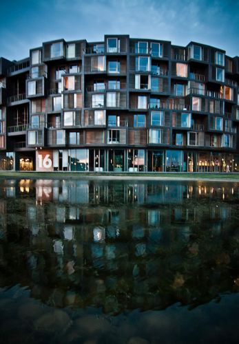 New waterfront, Copenhagen, Denmark