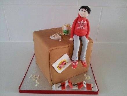 birthday boy  Cake by kalous