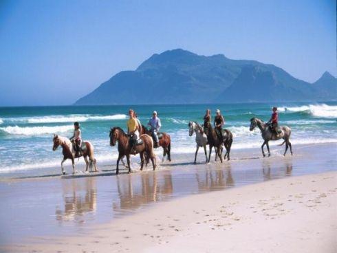 Horseriding on Noordhoek beach