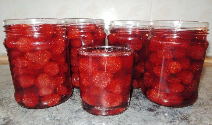 Ароматное варенье без варки ягод