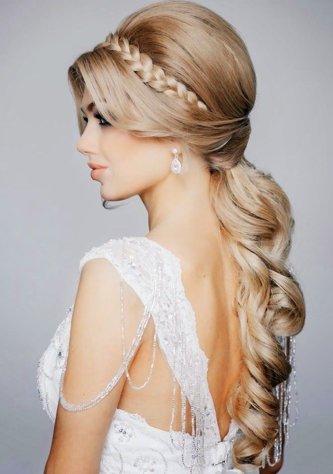Princess Hairstyles 30 Best Idee Per Capelli Images On Pinterest  Bridal Hairstyles