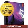 80% Off Adobe Student And Teacher Edition Software: Creative Suite 5.5 Master Collection $180