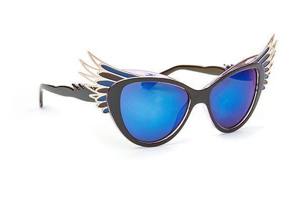 Womens feather frame sunglass (JP0114)