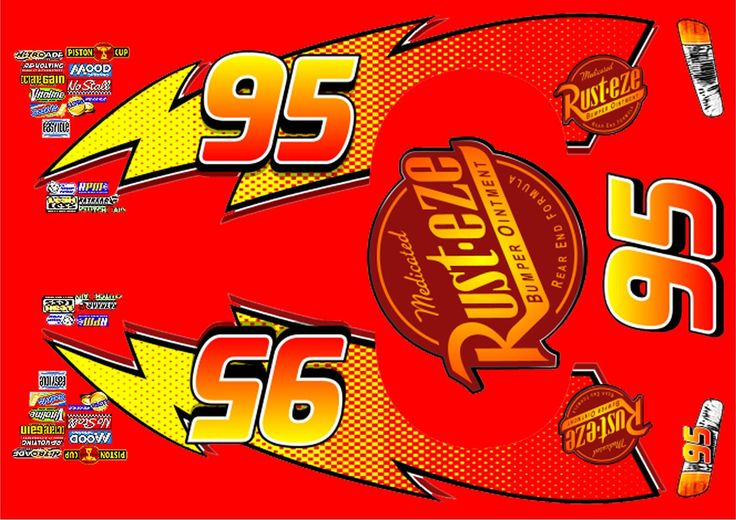 It is an image of Remarkable Lightning Mcqueen Printable Decals