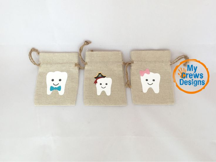 Tooth Fairy Bag - Add a name to the bag